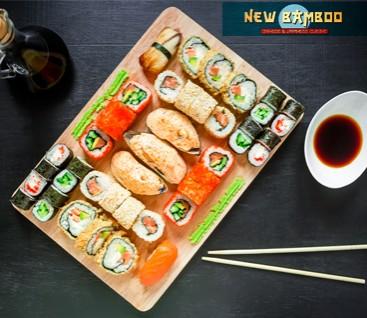 New Bamboo - Νέα Ιωνία - 18€ από 30€ (Έκπτωση 40%) για ένα Πλήρες Λαχταριστό Menu 2 Ατόμων με Ελεύθερη Επιλογή Φαγητού από τον Κατάλογο! Γνωρίστε την ασιατική κουζίνα, που είναι κλασικό παράδειγμα υγιεινής διατροφής και έχει ισχυρή παρουσία σχεδόν σε κάθε μεγαλούπολη στο εστιατόριο κινέζικης και ιαπωνικής κουζίνας «New Bamboo» στην Νέα Ιωνία!!!