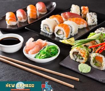 New Bamboo - Νέα Ιωνία - 25€ από 30€ (Έκπτωση 17%) για ένα Πλήρες Λαχταριστό Menu με Ελεύθερη Επιλογή Φαγητού από τον Κατάλογο αποκλειστικά για Delivery! Γνωρίστε την ασιατική κουζίνα, που είναι κλασικό παράδειγμα υγιεινής διατροφής και έχει ισχυρή παρουσία σχεδόν σε κάθε μεγαλούπολη στο εστιατόριο κινέζικης και ιαπωνικής κουζίνας «New Bamboo» στην Νέα Ιωνία!!!